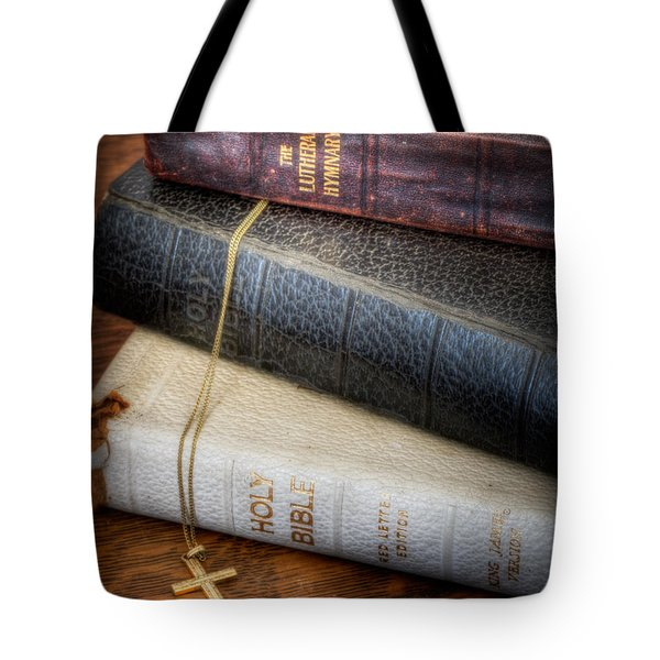 The Books Tote Bag by David and Carol Kelly