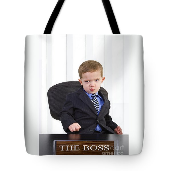 The Boss Tote Bag by Diane Diederich
