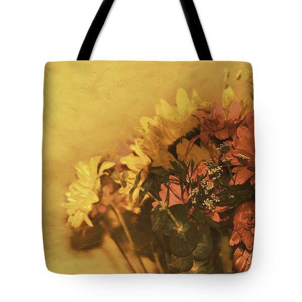 The Bouquet Tote Bag by Diane Schuster