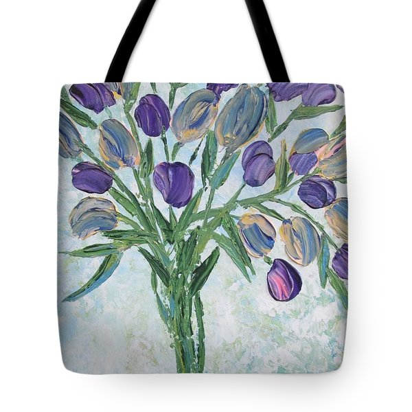 The Bouquet I Tote Bag by Molly Roberts