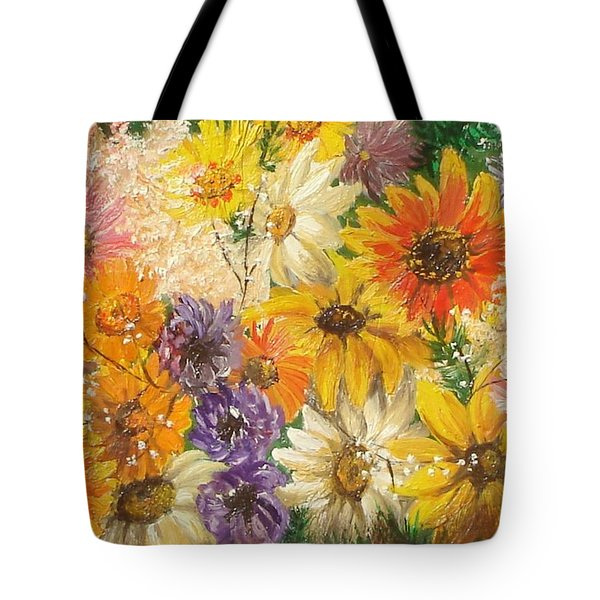The Bouquet Tote Bag by Sorin Apostolescu
