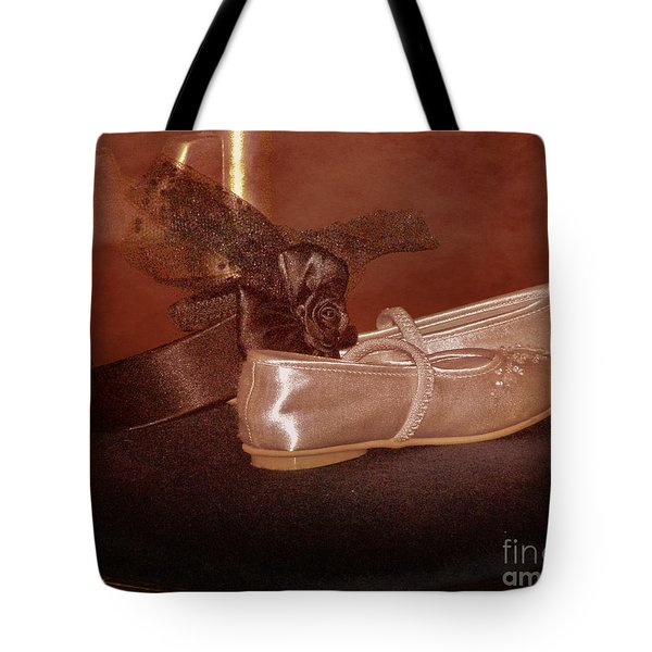 The Bridesmaid's Shoes Tote Bag by Terri  Waters