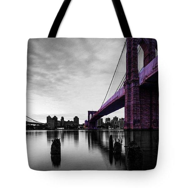 The Brooklyn Bridge Tote Bag by Brian Reaves