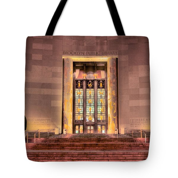 The Brooklyn Public Library Tote Bag by JC Findley