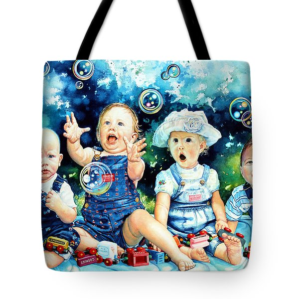 The Bubble Gang Tote Bag by Hanne Lore Koehler
