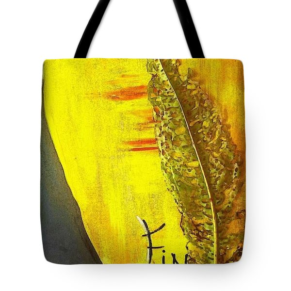 The Bugs Got To It First Tote Bag by PainterArtist FIN