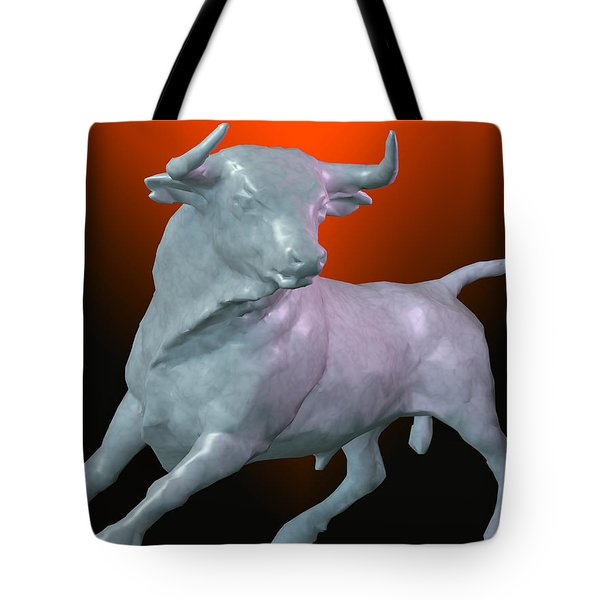 The Bull... Tote Bag by Tim Fillingim