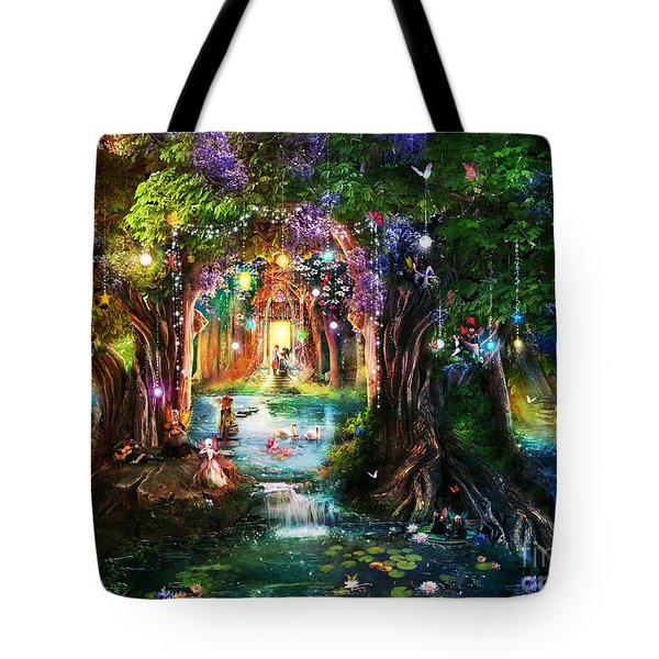 The Butterfly Ball Tote Bag by Aimee Stewart