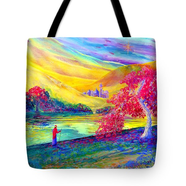 The Calling Tote Bag by Jane Small