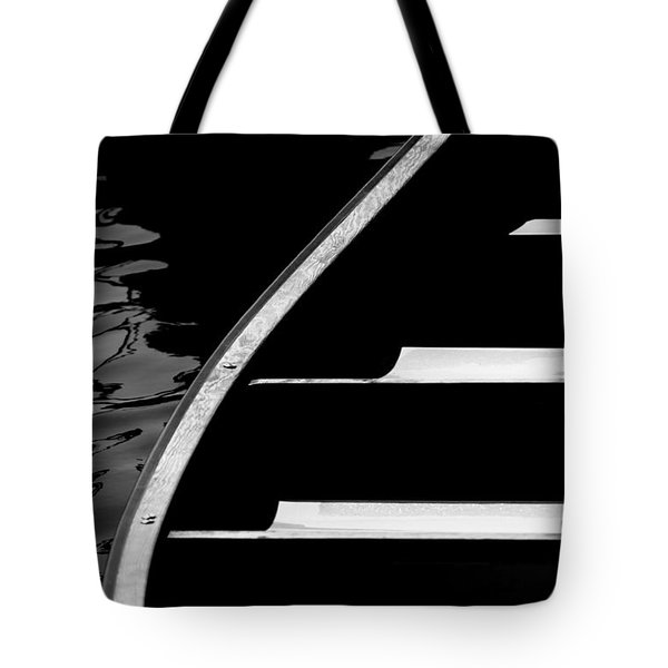 The Canoe Tote Bag by Jeff Breiman