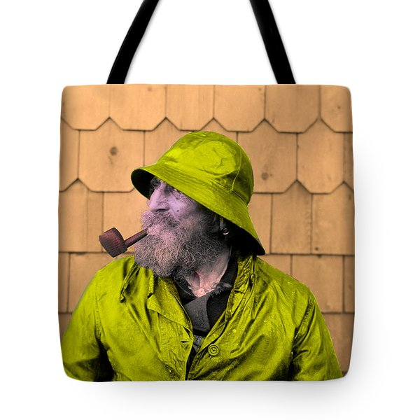 The Cape Ann Fisherman Tote Bag by Digital Reproductions