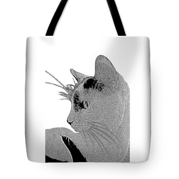 The Cat Tote Bag by Ben and Raisa Gertsberg