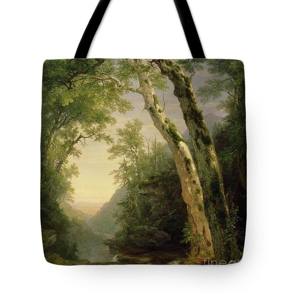 The Catskills Tote Bag by Asher Brown Durand