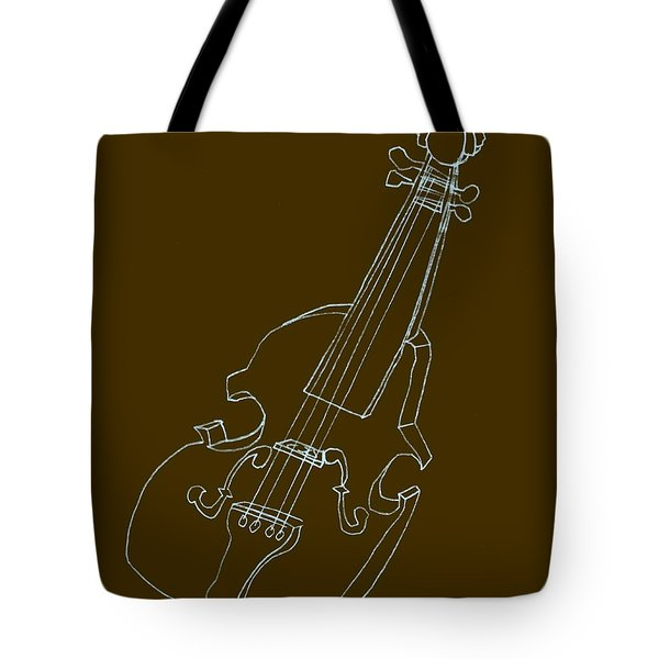 The Cello Tote Bag by Michelle Calkins