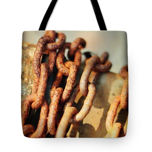 The Chain Tote Bag by Rebecca Sherman