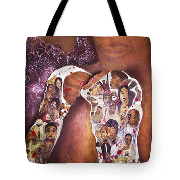 The Champ Tote Bag by Larry Rice