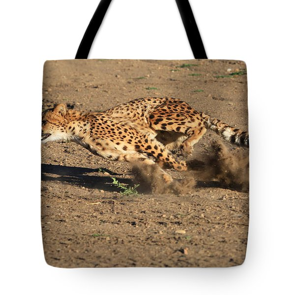 The Chase Tote Bag by Donna Kennedy