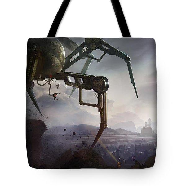 The Chase Tote Bag by Kristina Vardazaryan