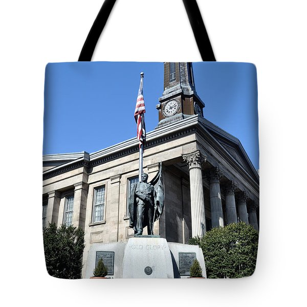 The Chester County Courthouse In West Chester Pa Tote Bag by Bill Cannon