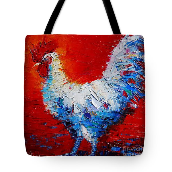 The Chicken Of Bresse Tote Bag by Mona Edulesco