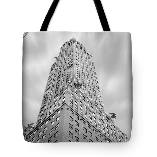 The Chrysler Building Tote Bag by Mike McGlothlen