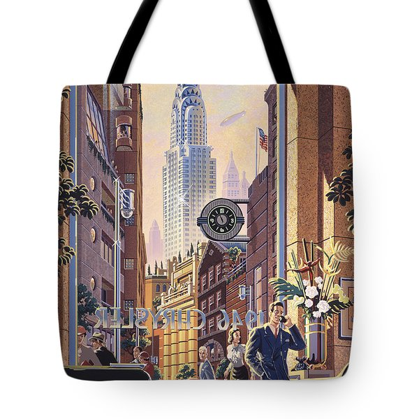 The Chrysler Tote Bag by Michael Young