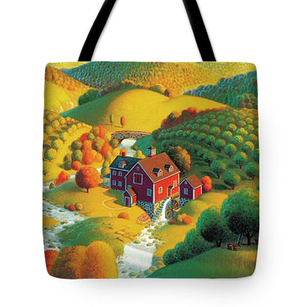 The Cider Mill Tote Bag by Robin Moline