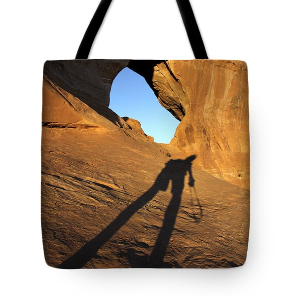 The Climb Tote Bag by Mike McGlothlen
