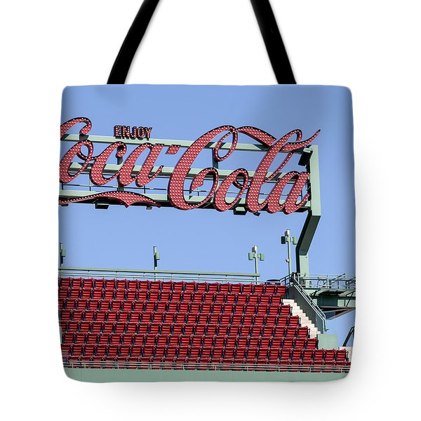 The Coca-Cola Corner Tote Bag by Susan Candelario