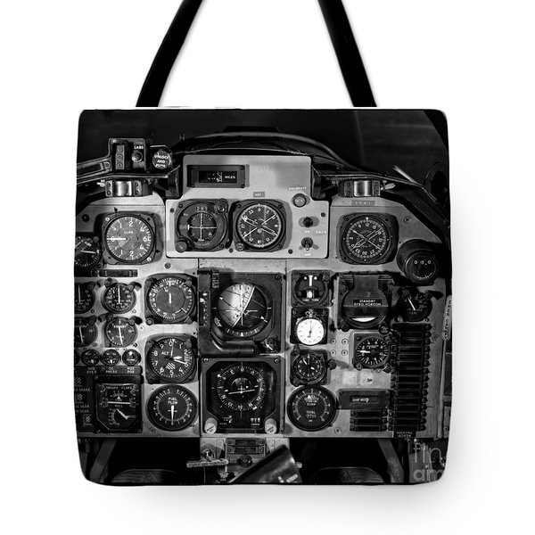 The Cockpit Tote Bag by Edward Fielding