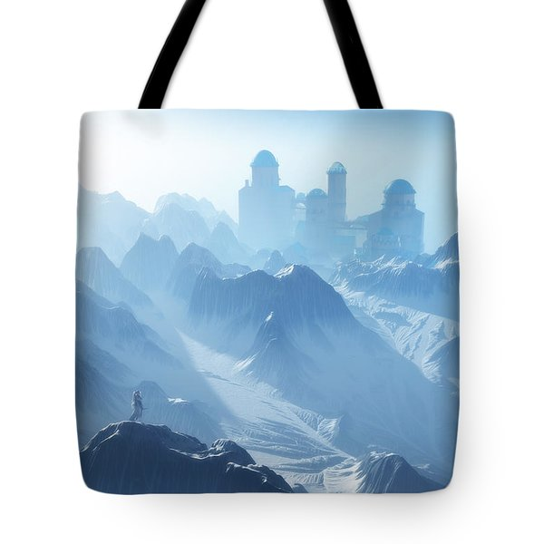 The Cold Light Of Day Tote Bag by Melissa Krauss