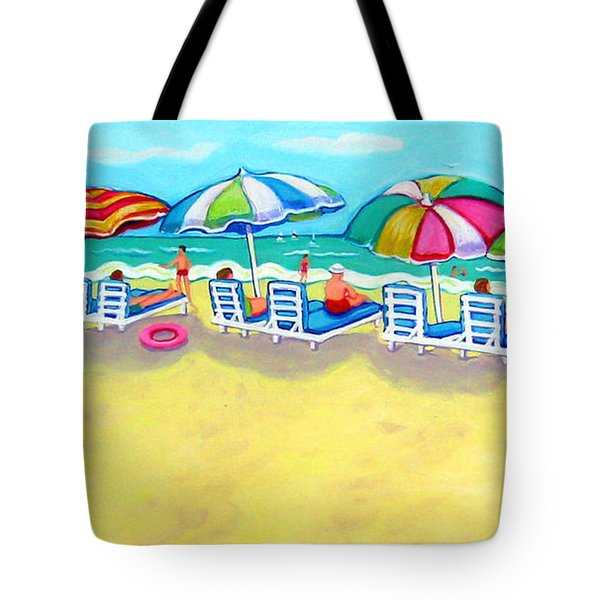 The Color Of Summer  Tote Bag by Rebecca Korpita