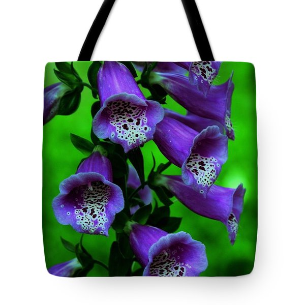 The Color Purple Tote Bag by Kathleen Struckle