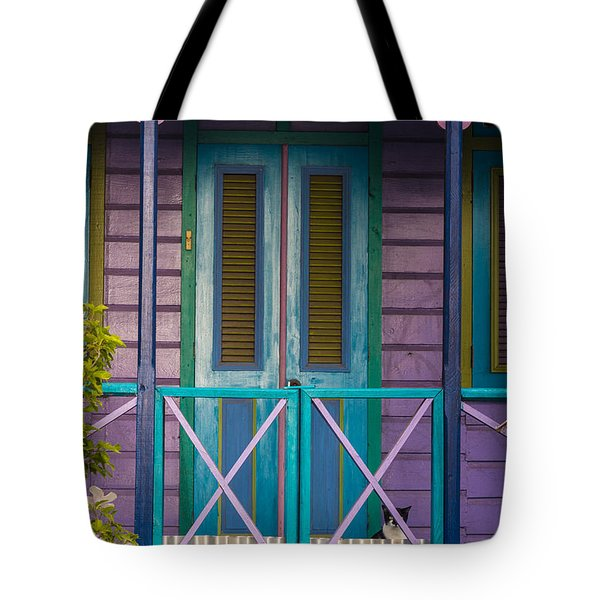 The Color Purple Tote Bag by Rene Triay Photography
