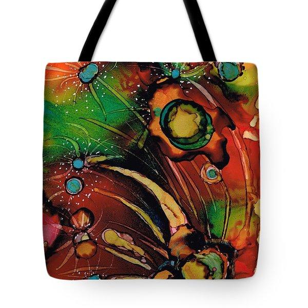 The Colours Of My Mind.. Tote Bag by Jolanta Anna Karolska