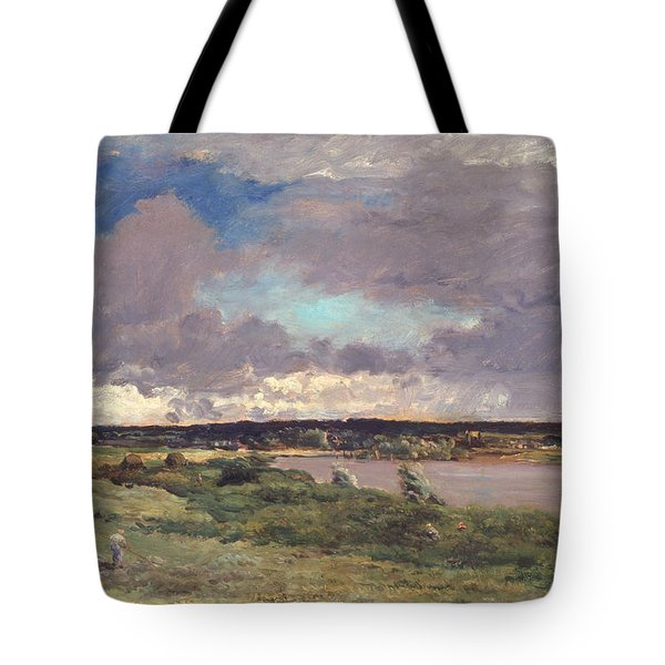 The Coming Storm Tote Bag by Charles Francois Daubigny