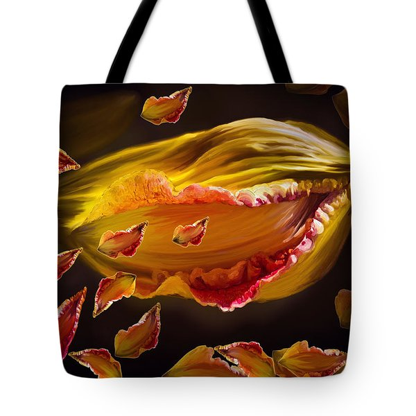 The Contagion Of Laughter Tote Bag by Angela A Stanton