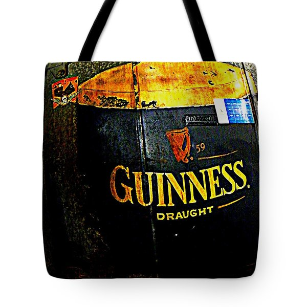 The Cooler Tote Bag by Chris Berry