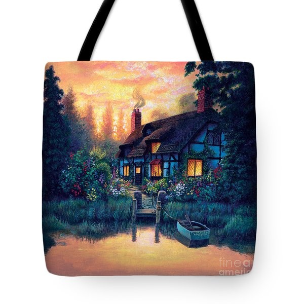 The Cottage Tote Bag by MGL Studio - Chris Hiett