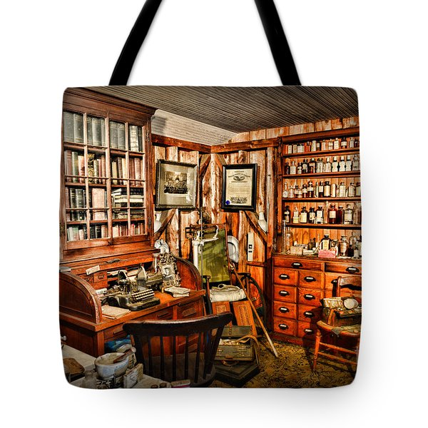The Country Doctor Tote Bag by Paul Ward