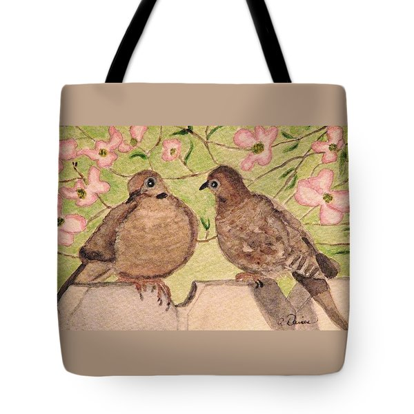 The Courtship Tote Bag by Angela Davies