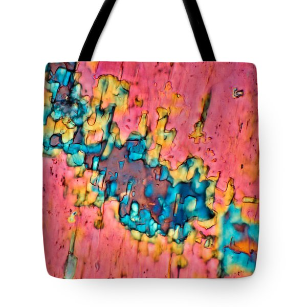 The Crack In The Wall Tote Bag by Tom Phillips