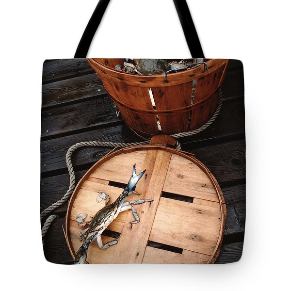 The Cranky Crab Tote Bag by Skip Willits