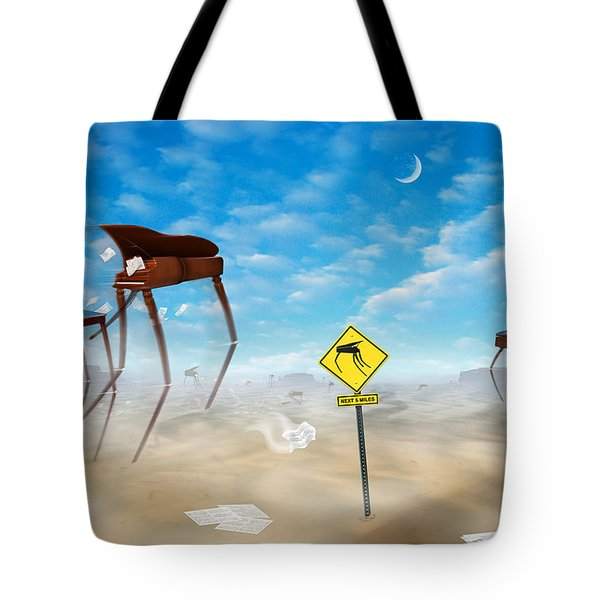 The Crossing Tote Bag by Mike McGlothlen