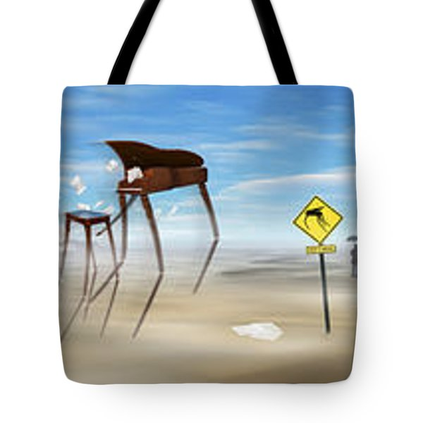 The Crossing Panorama Tote Bag by Mike McGlothlen