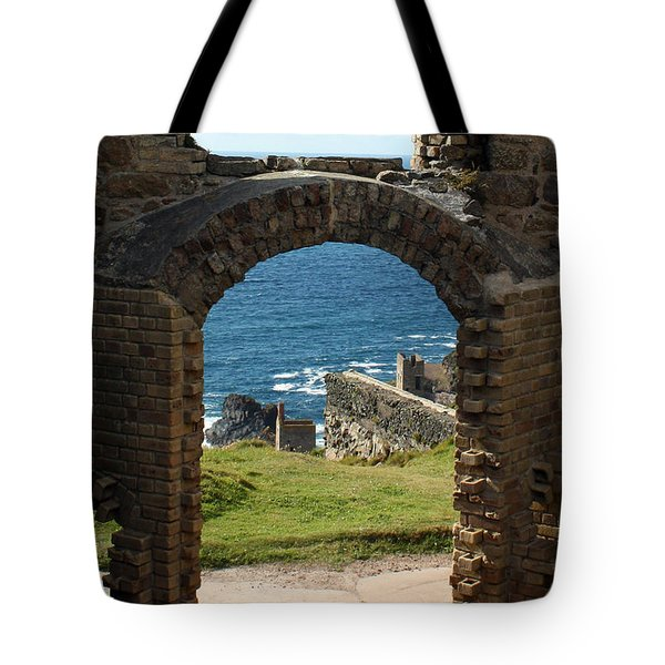 The Crowns Of Cornwall Tote Bag by Terri  Waters