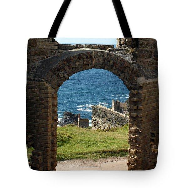The Crowns of Cornwall Tote Bag by Terri  Waters