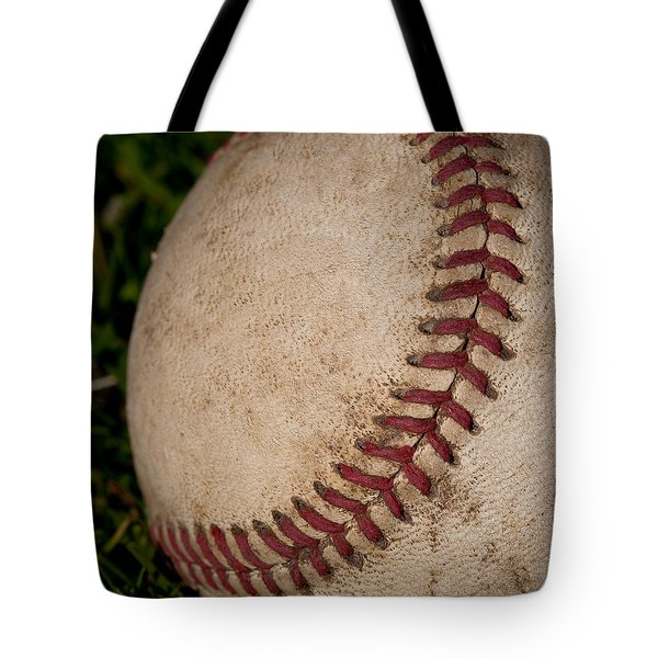 The Curveball Tote Bag by David Patterson