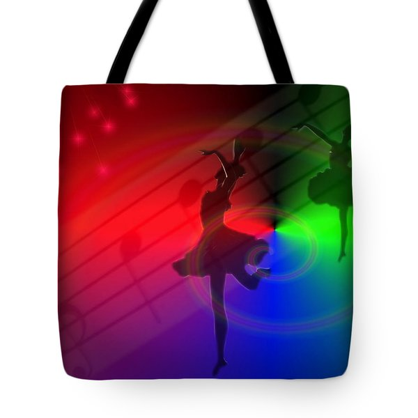 The Dance Tote Bag by Joyce Dickens