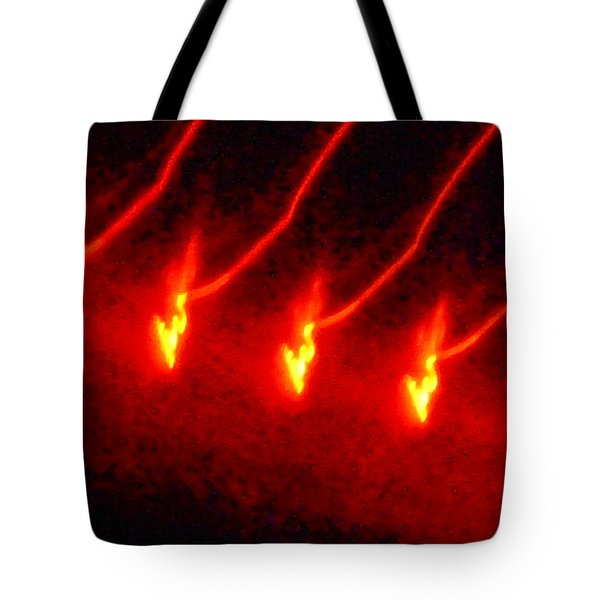 The Dance Of Gold Tote Bag by James Welch